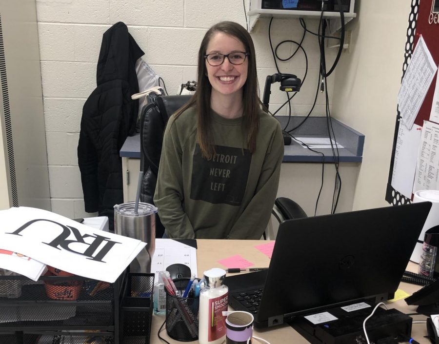 Kaylee Fermoyle, Lake Shore's new Speech Pathologist