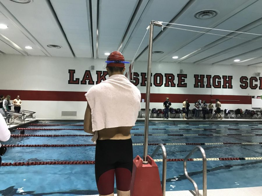Shorian Boys Varsity Swim Team Ends Season with Record of 7-7